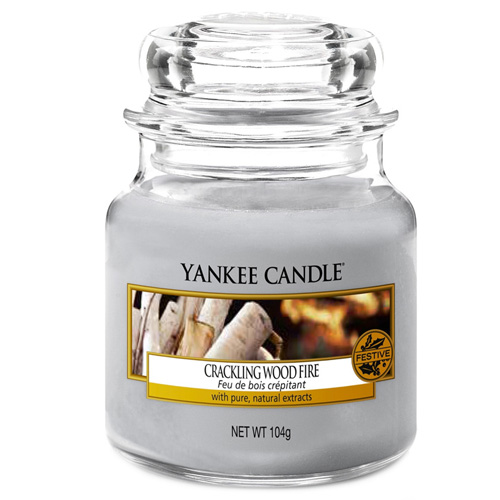 Yankee Candle Crackling wood fire 104g