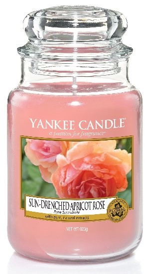 Yankee Candle 623g Sun-Drenched Apricot Rose