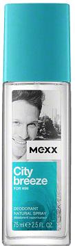 Mexx City Breeze For Him Deodorant Natural Spray M 75ml