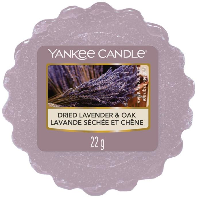 Yankee Candle Vonný vosk Dried Lavender & Oak 22g