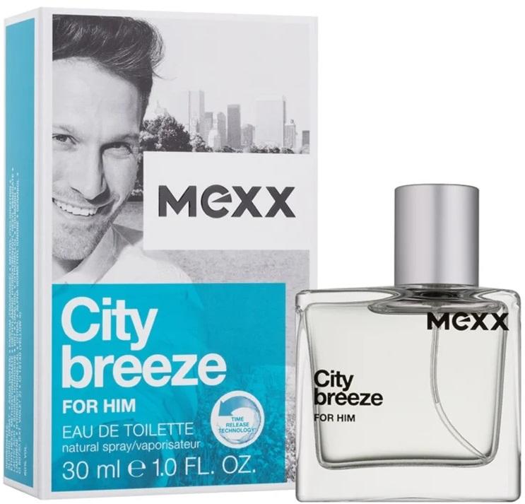 Mexx City Breeze For Him M EDT 30ml