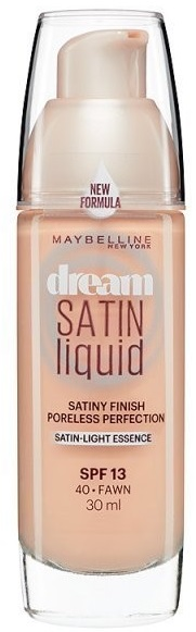Maybelline Dream Satin Liquid Foundation 30ml - 40 Fawn