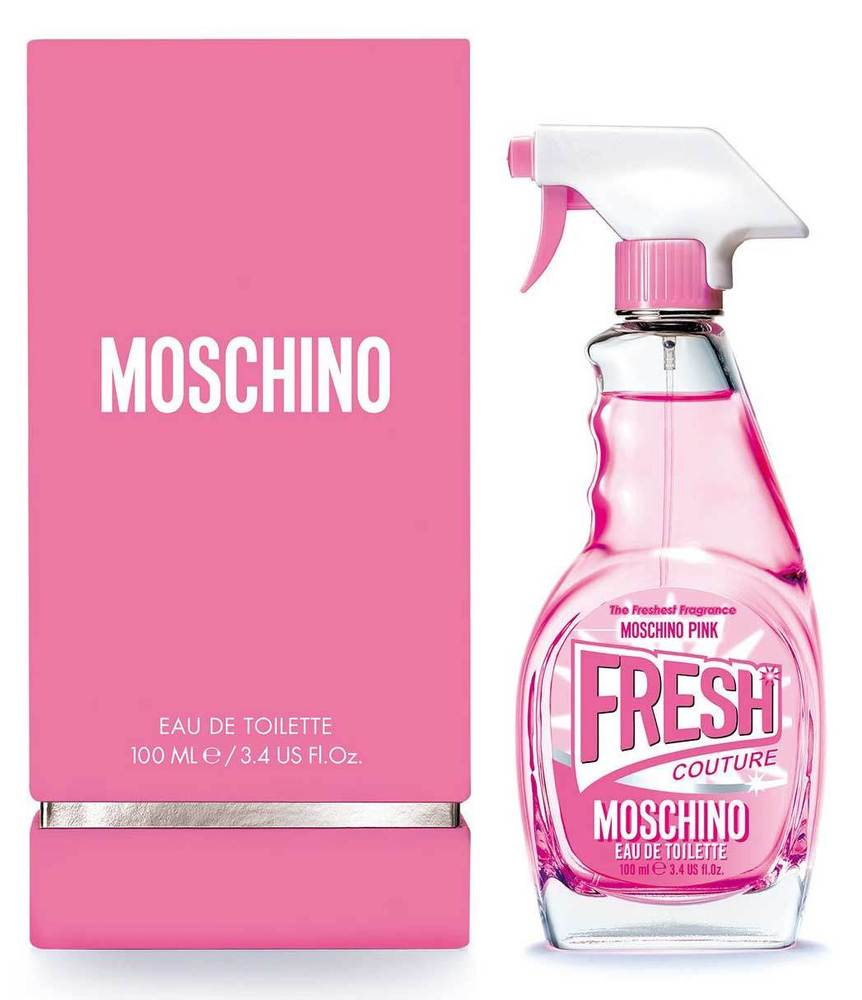 Moschino Fresh Couture Pink W EDT 100ml