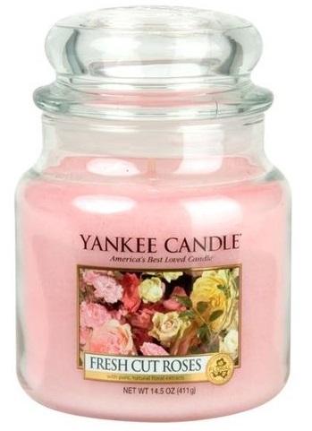 Yankee Candle 411g Fresh Cut Roses