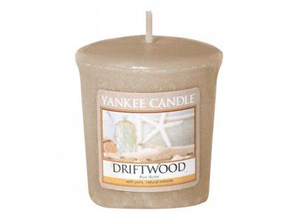 Yankee Candle Votivní svíčka Driftwood 49g