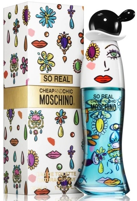 Moschino Cheap And Chic So Real W EDT 50ml
