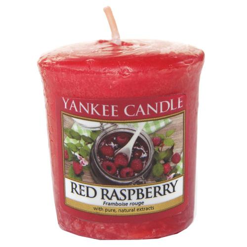 Yankee Candle Votivní svíčka Red raspberry 49g