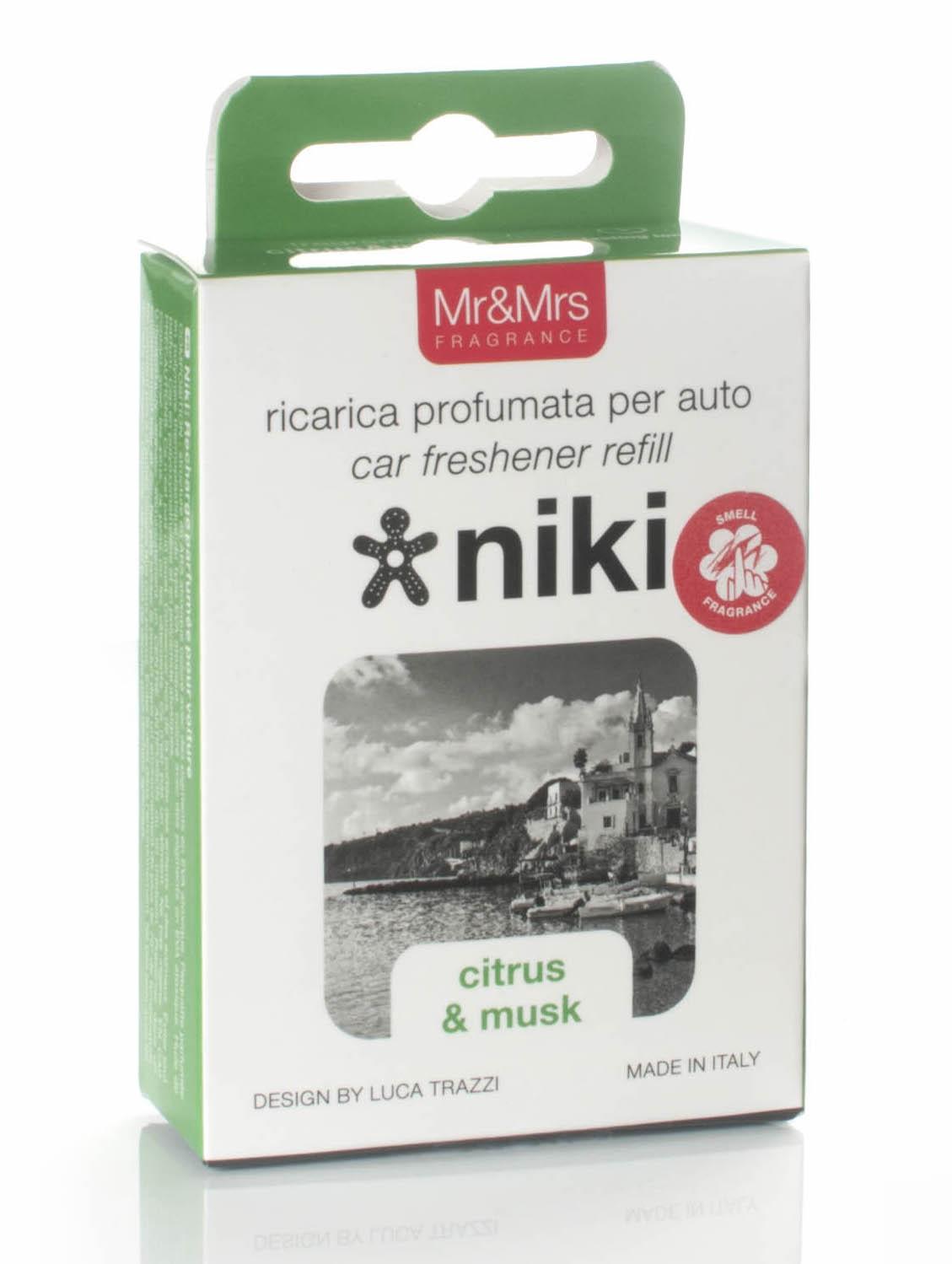 Mr&Mrs Fragrance Niki Citrus & Musk - náplň