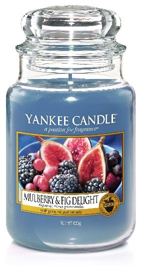 Yankee Candle 623g Mulberry & Fig Delight