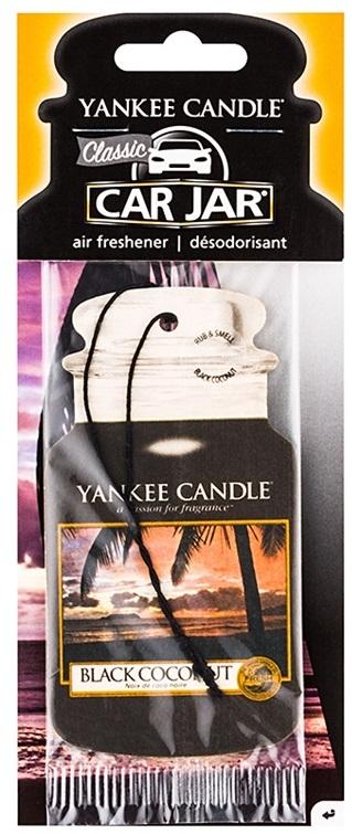 Yankee Candle Car Jar Classic Black Coconut