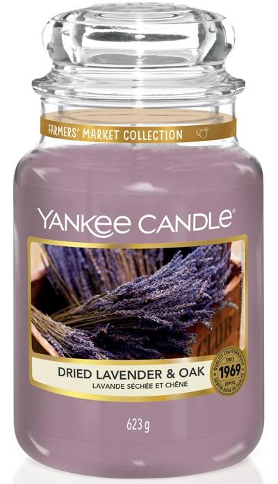 Yankee Candle Lavender & Oak 623g