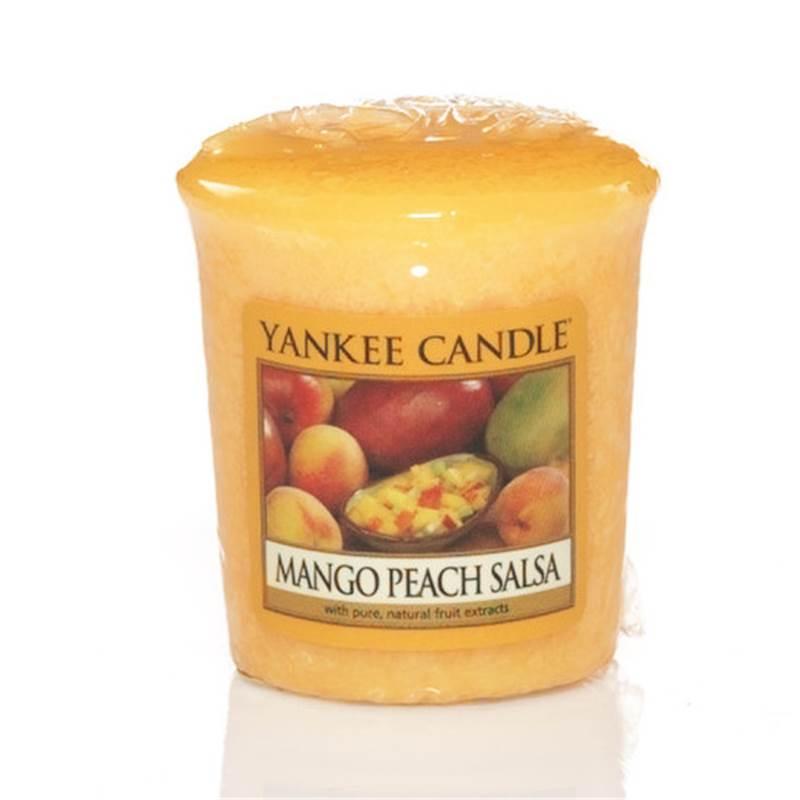 Yankee Candle Votivní svíčka Mango peach salsa 49g