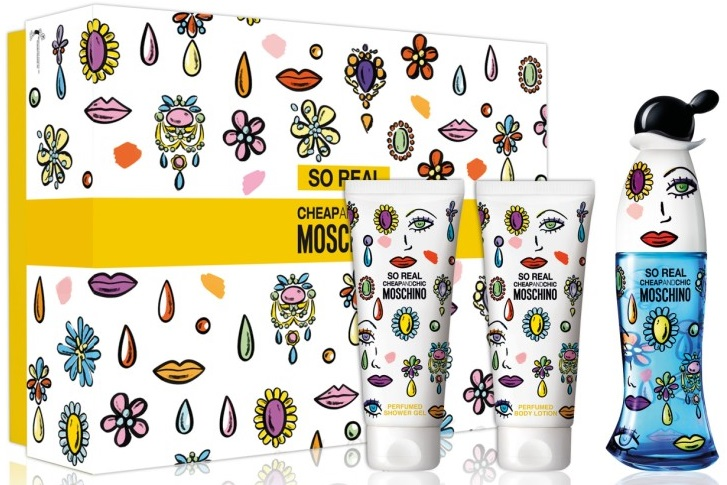 Moschino So Real Cheap and Chic W EDT 50ml + BL 100ml + SG 100ml