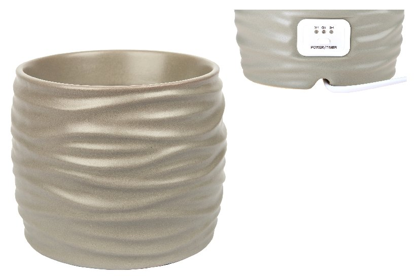 Yankee Candle Scenterpiece Easy MeltCup Warmer With Timer Noah Grey