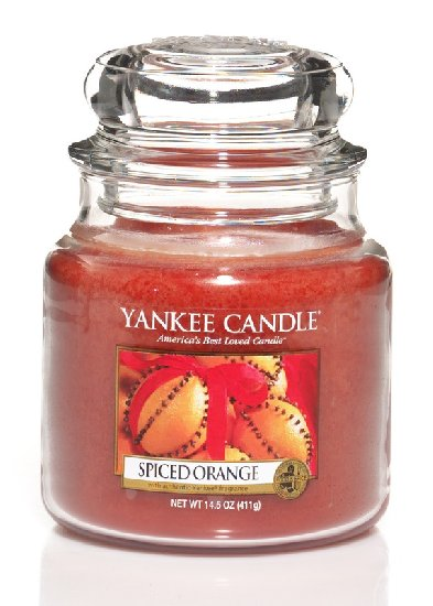 Yankee Candle Spiced orange 411g